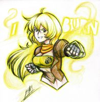 Yang Xiao Long by Men-dont-scream