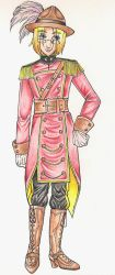 Steampunk Mountie Canada by telepaths
