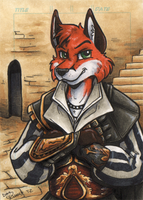 Master Of The Werefox Assassins Guild by JasonWerefox