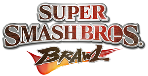 Super Smash Bros. Brawl logo by RingoStarr39