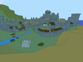 Capital of Vengard, Gothic 3 WIP [updated] by jansa87