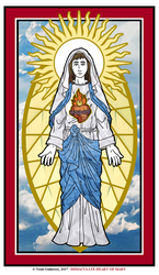 Immaculate Heart of Mary by NowitzkiTramonto