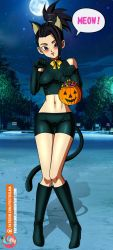 Commission - Kale in cat costume by FoxyBulma