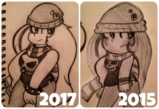 2017 vs 2015 by ChristinaDoodles