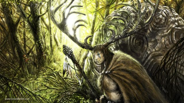 The Horned One by Ionus