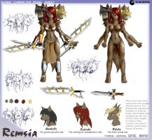 Remsia, Cerberus Girl: Sheet by cyrad