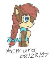 Sally Acorn in braid by cmara