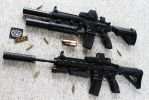 HK416 - Heckler+Koch Rifle STOCK II by PhelanDavion