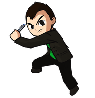 Wind Waker Ninth Doctor by IronManWristwatch