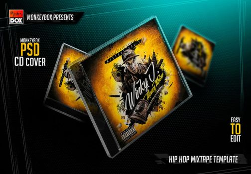 Hip-Hop Mixtape Template by AndyDreamm