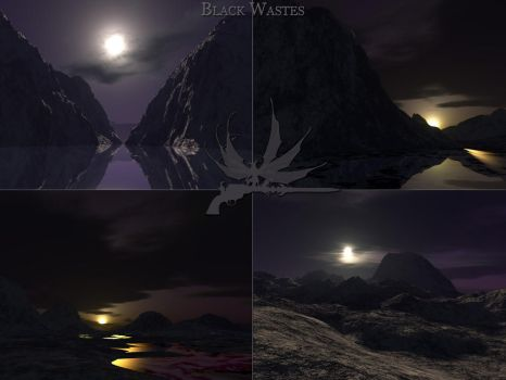 Black Wastes 4 Renders by General-EbonRose