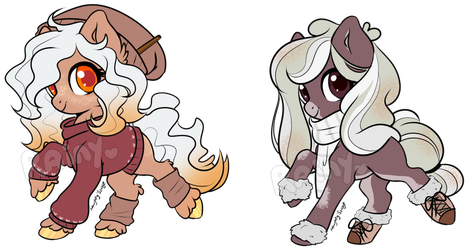 Autumn Drink Theme Pony Adopts - OPEN by RainysAdopts