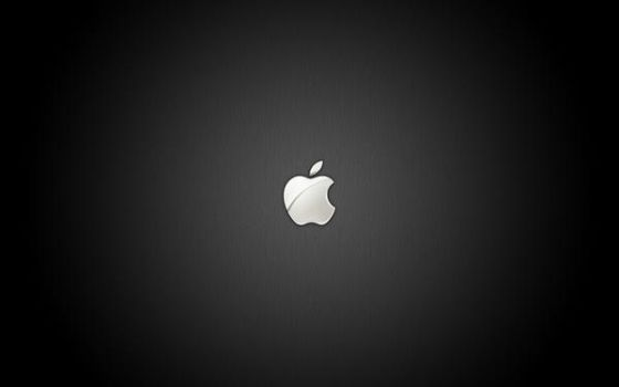 Apple iPhone Bootlogo Black by schmrom