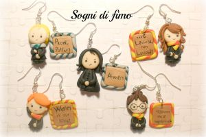 Personaggi Harry Potter in fimo by SogniDiFimoCReazioni