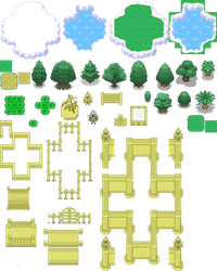 Heaven Realm Tileset (XY-Styled) by Phyromatical