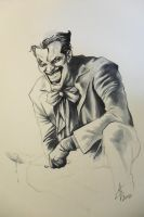 Joker Sketch by Atzinaghy