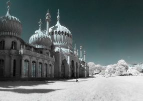 Brighton Pavillion by wreck-photography