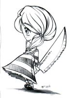 Undead knife Dolll by hakesh-chan