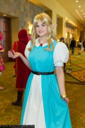 Maiden Zelda by Darth-Sunshine
