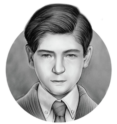 Young Bruce Wayne by gregchapin