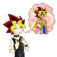 YGO- Dreams of Manly-ness... by EvilChibiNic