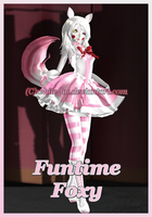 FNAF SL Funtime Foxy *Updated* by White-Hu