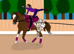 Final Image - Horse Training by TornadoEllie