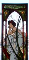 Mucha Window by Avogel57