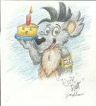 Rick Rat Happy Birthday  RatteMacchiato! by Nayikee