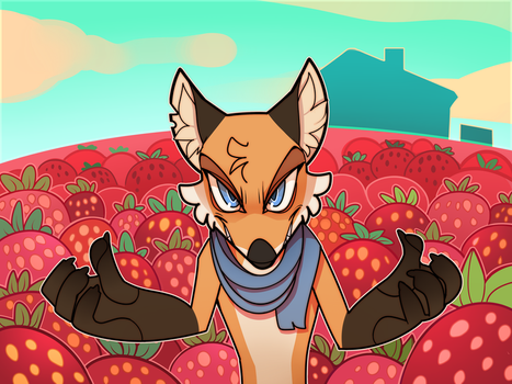 The Overlord Of Strawberries by SmokyJack
