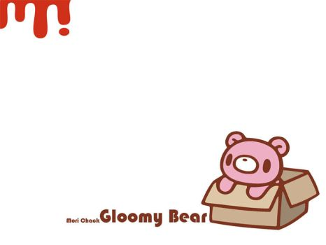 Gloomy Bear v2 by Beloved-chan