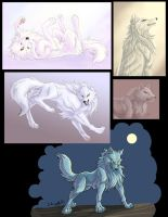 A set of arts of Kiba by J-C