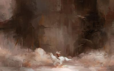 Rusted City (Original) by Alex-Chow
