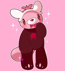 Pastry Bear Claw by Blushily