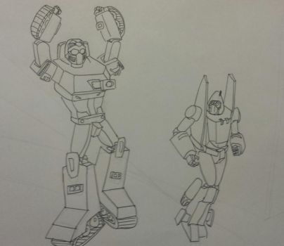 Power Glide and Warpath by Go-Faster-Wings