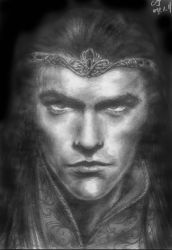The Silmarillion - Feanor by ainarian