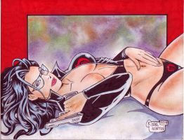 The Baroness (#5) by Rodel Martin by VMIFerrari