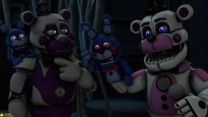 [SFM FNaF 4K] Stylish and Normal Funtime Freddy by AwesomeSuperSonic