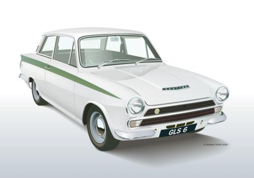 Lotus Cortina Mk1 by yeahbutnobut
