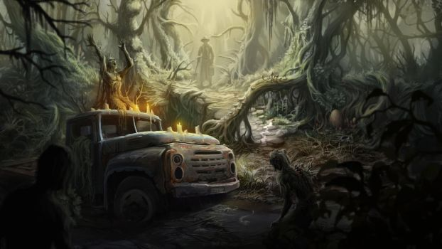 Deep Forest by scerg