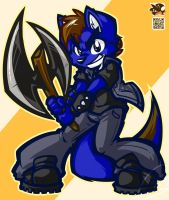 [FULL COMMISSION] - LETS AXE IT!~ by LilChu