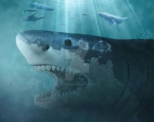 Megalodon by 35-Elissandro