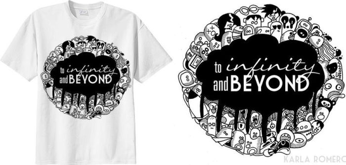To Infinity and Beyond Shirt by kailascribbles