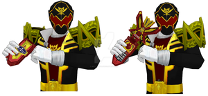[MMD NC]Gokai Killer's Mobirates by MIST-TO-GUN