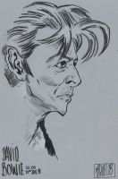 David Bowie by jacksony22