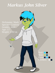 Mark-Rough-Character-Sheet by CosmicSpaces
