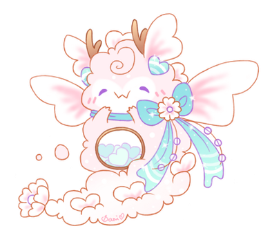 [CLOSED] Re-Auction (Ultra Rare Dragon Fluffbit!) by Sarilain