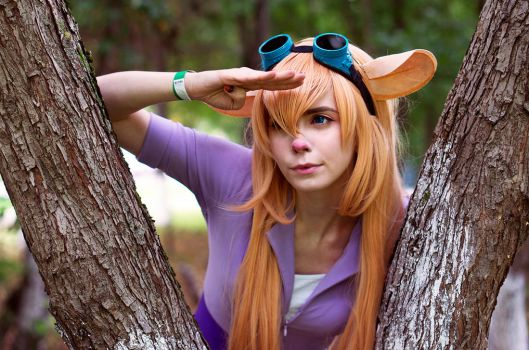 Gadget chip and Dale cosplay by Tenori-Tiger