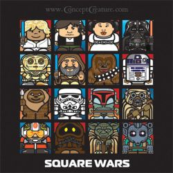 Square Wars by concept-creature