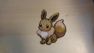 Pokemon #24 - Eevee by MagicPearls